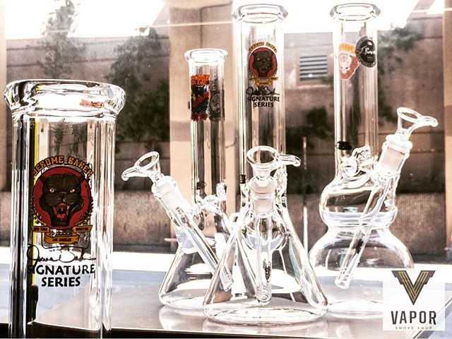 Just in, @jerome_baker glass here @vaporsf  Clean, simple and straight to the point. Come check them out!