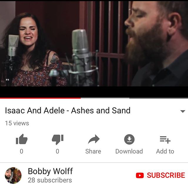 """Video of our song """"Ashes and Sand"""" is live! Filmed at @bypconcerts by our friend @bobby_earl. YouTube link in our bio."""