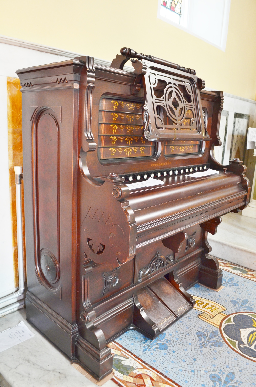 Smith of Boston, 1863 Reed Organ Restored 2012-2013