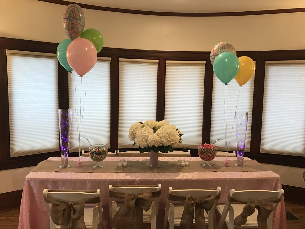 Baby Shower   Crescent   Package:  Partial Planning, & Coordination