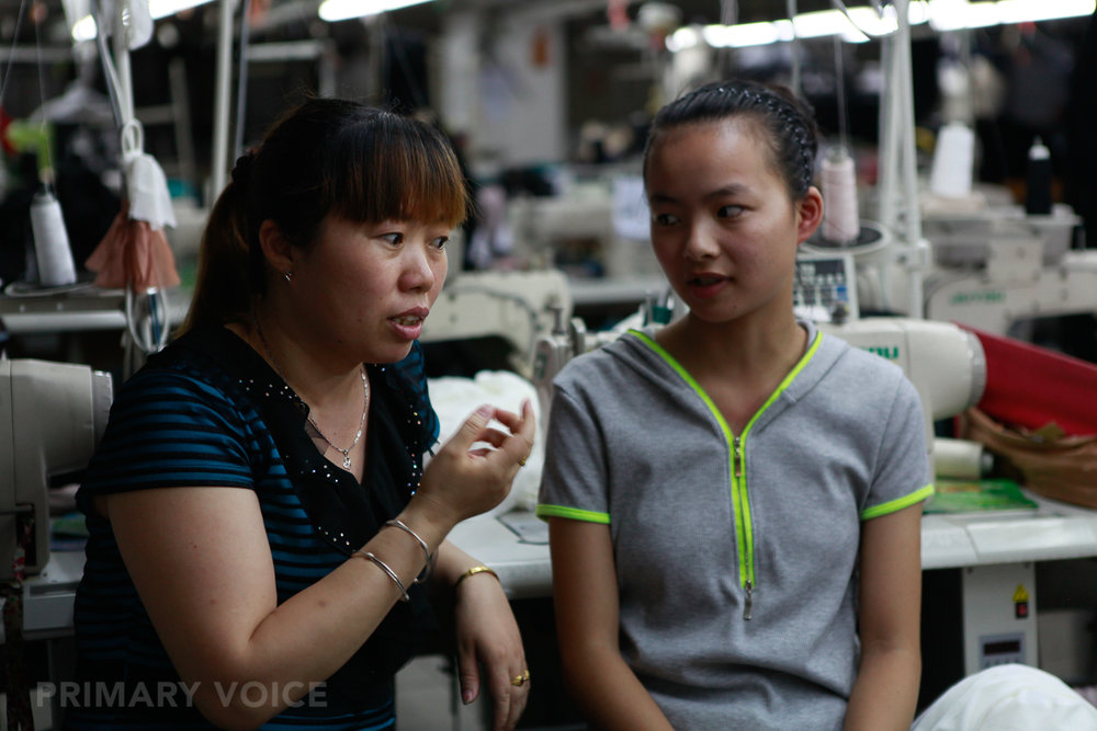 LENG + ZHANG - are mother and daughter.