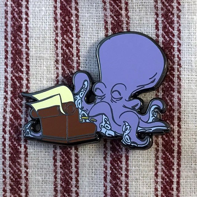 Here is a closer look at that Exclusive Otto pin designed by @briankesinger.