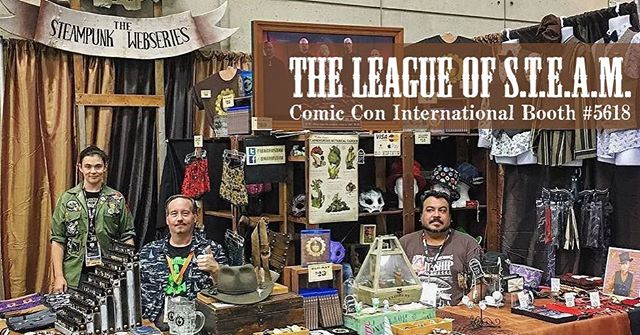 Ahh, memories.  Come see us at booth #5618 July 20-23, 2017 and make some new memories with us!  #steampunk #comiccon #comicconinternational #comicconinternational2017 #BrianKesinger #Otto #Victoria #ottoandvictoria #teagirls  #theleagueofsteam #pin #pins