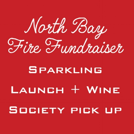 November 17th, 8 p.m. - Midnight   Wine Down  (685 Folsom Street)  We have pivoted our 11/17 sparkling launch and wine society pick up event to also be a fundraiser for relief efforts.