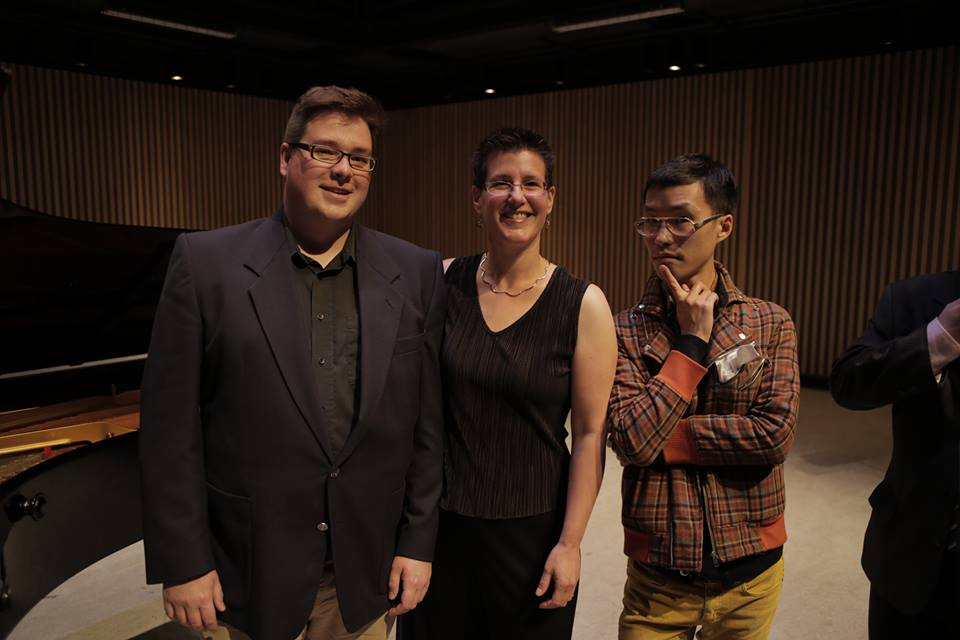 From left to right: ASL Co-Directors Michael Park, Alison d'Amato, and Ray Hsu