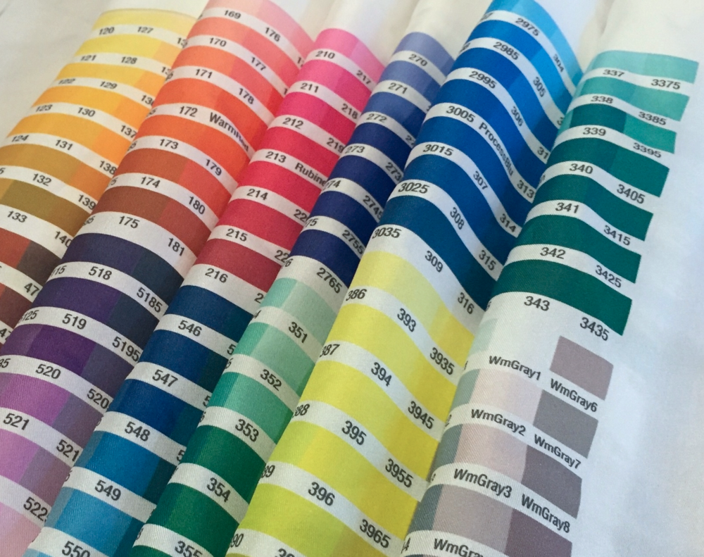 Custom Color Swatches