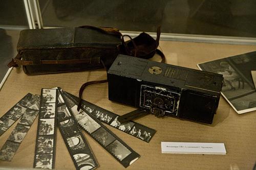 Фанерный фотоаппарат Урусевского «УРУ-1». Фото из жж Анны Баскаковой