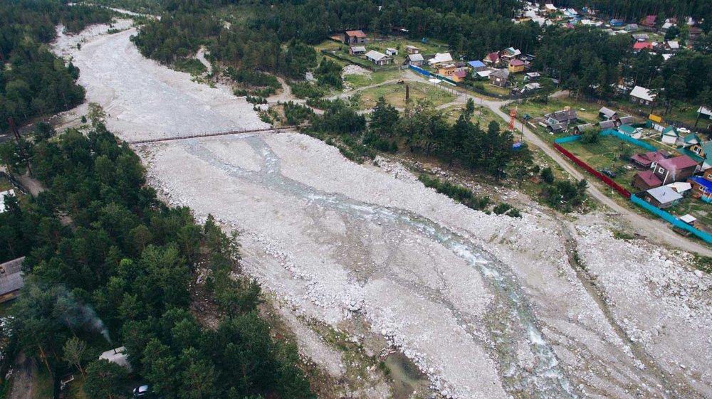 В 2014 году селевые потоки снесли 21 дом и изменили берега реки Кынгарги. Река обмелела.