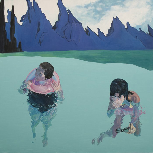 Swimming outside the boundariesof Castle Grayskull byGustavo Peña