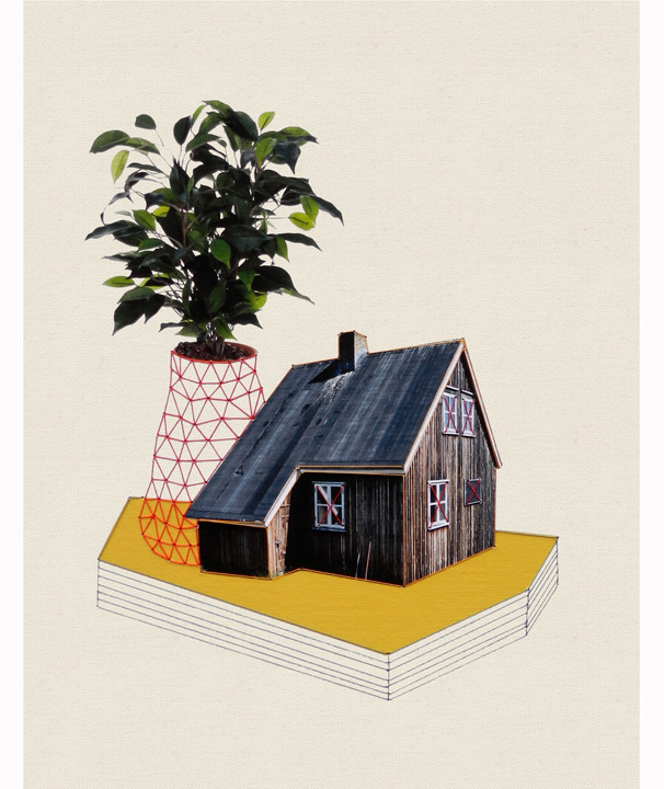 House and Plants by Hagar van Heummen