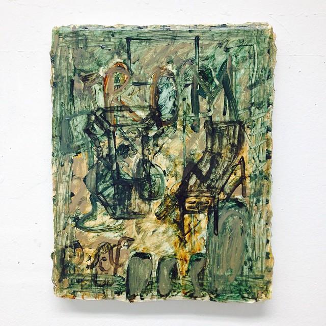Emporium  Oil on canvas 12 x 16 in.