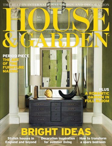House & Garden Magazine UK - July 2014.png