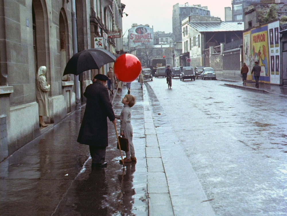 Image taken from unrelated film  Le Ballon Rouge .