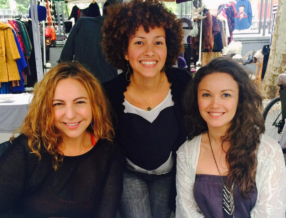 Manuela Schaudt, Jinnette Caceres and Malena Seldin