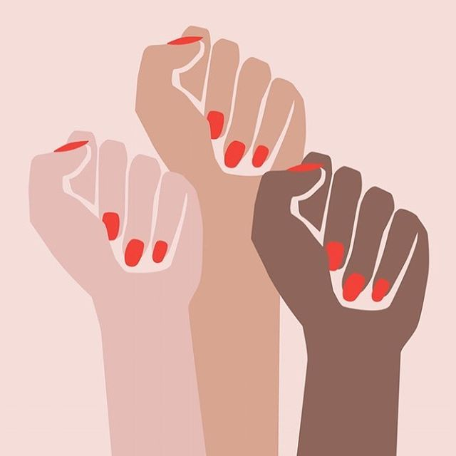 ✊️✊🏽✊🏾 #womensmarch yesterday was simply incredible ❣️ image by @all_womankind