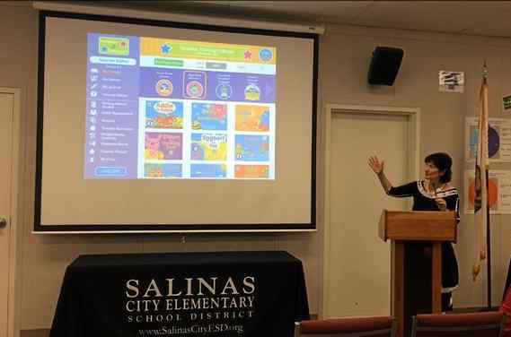 Please read the article reported by Claudia Meléndez, Monterey Herald Salinas launches early literacy project