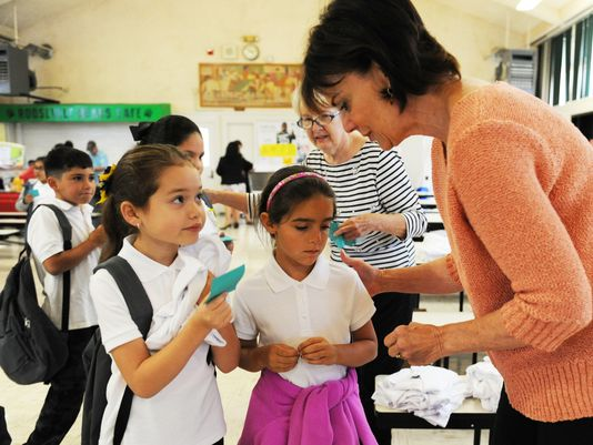 For kids at Roosevelt Elementary, back-to-school is a little bit easier thanks to local volunteer efforts