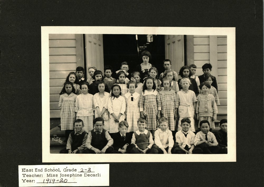 1919-East End School-2nd 3rd Graders.JPG