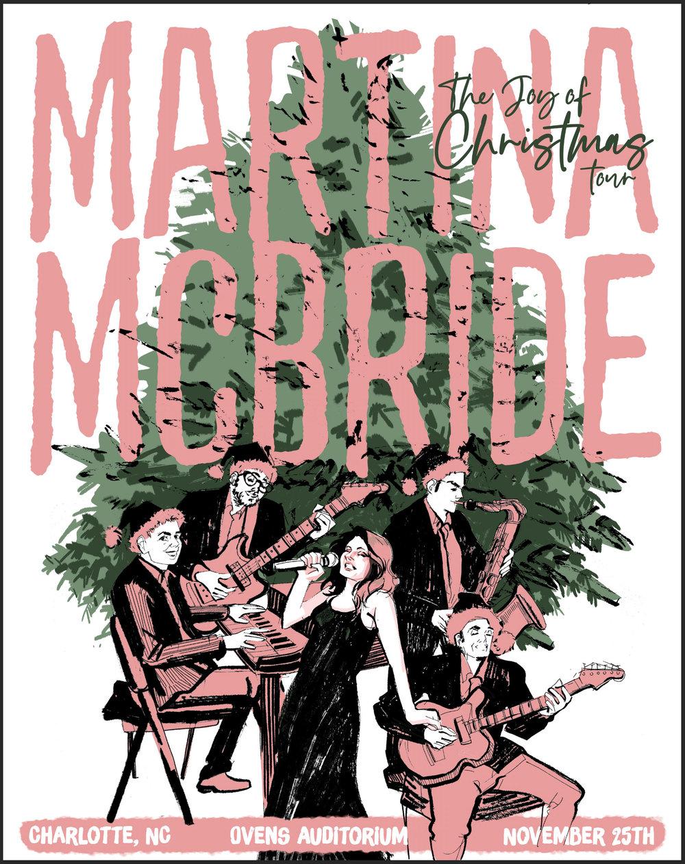Martina Mcbride Joy of Christmas Poster