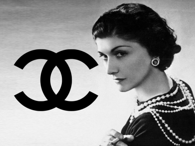 coco chanel upside down frown