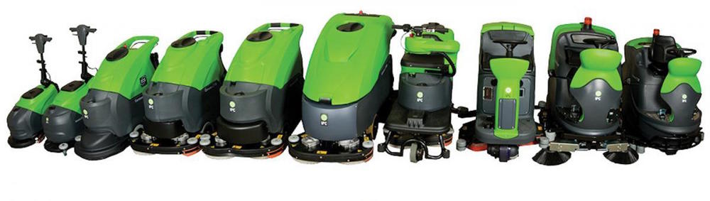 Commercial Floor Scrubber and Floor Cleaning Equipment from GTI Industries Inc in Florida, USA