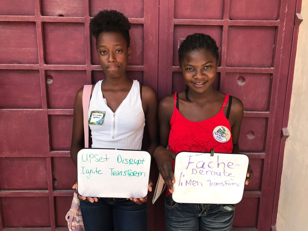 Youth Leading Change makes it to Haiti!