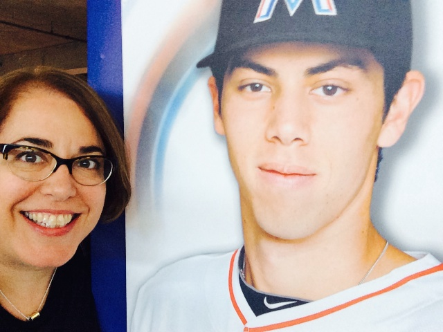 Me and Christian Yelich