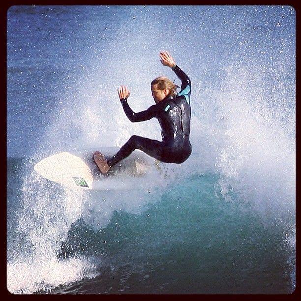 Mark Robberds, Surfing!