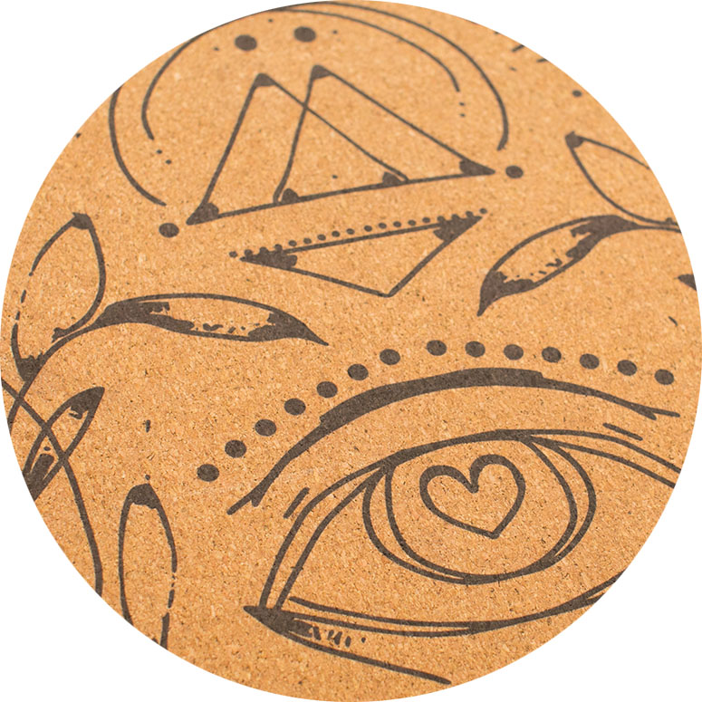 natural cork SURFACE - Natural feel, grips great