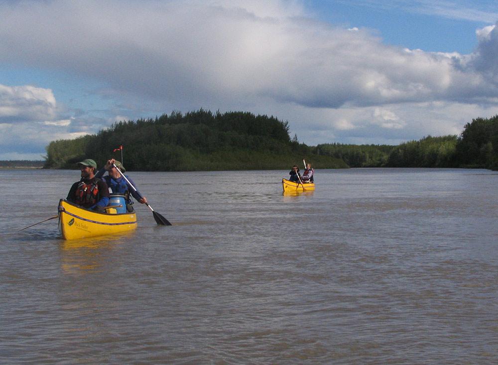 NWT - Slave River paddling