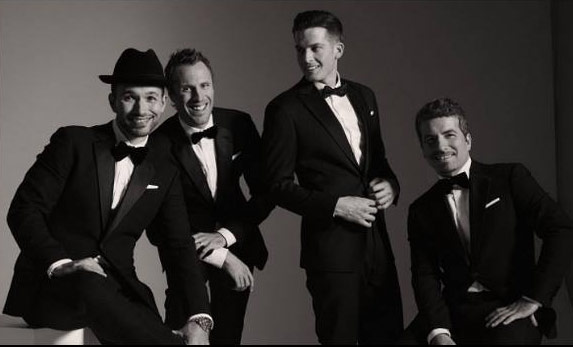 "Victor Micallef, Clifton Murray, Fraser Walters and Remigio Pereira – ""The Tenors"""