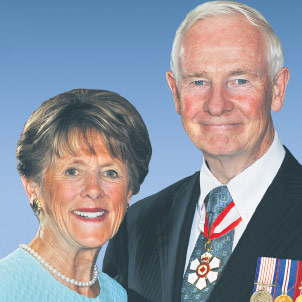 Their Excellencies the Right Honourable David Johnston, Governor General of Canada, and Mrs. Sharon Johnston, TCT Honorary Patrons