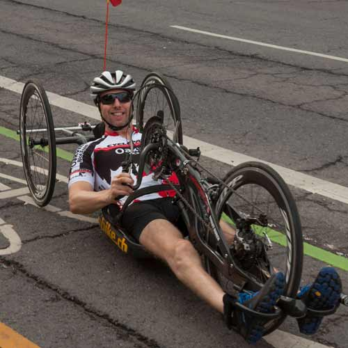 Robert Buren, Paraplegic Athlete & Motivational Speaker