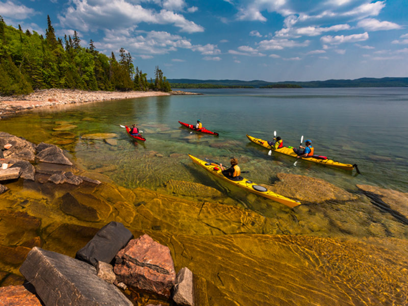 Rossport Kayaking