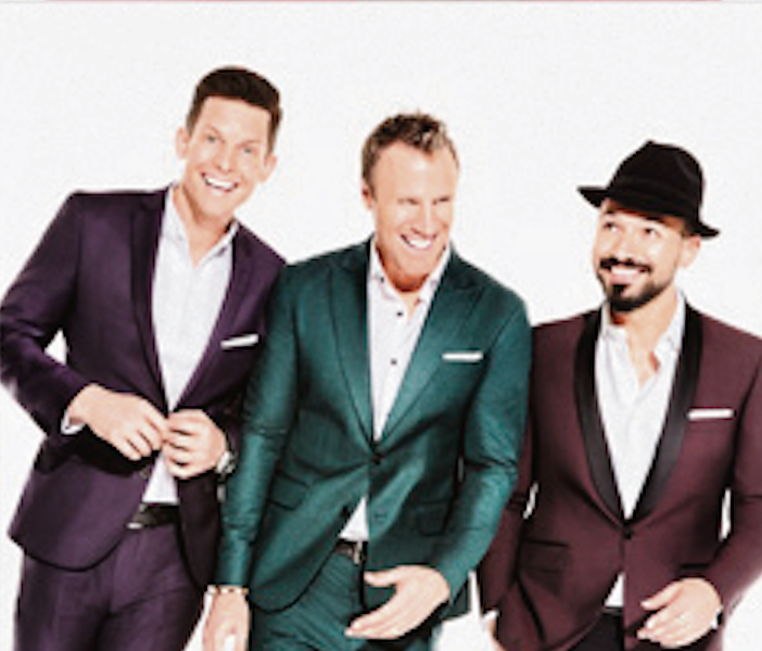 The Tenors, Clifton Murray, Fraser Walters, Victor Micallef