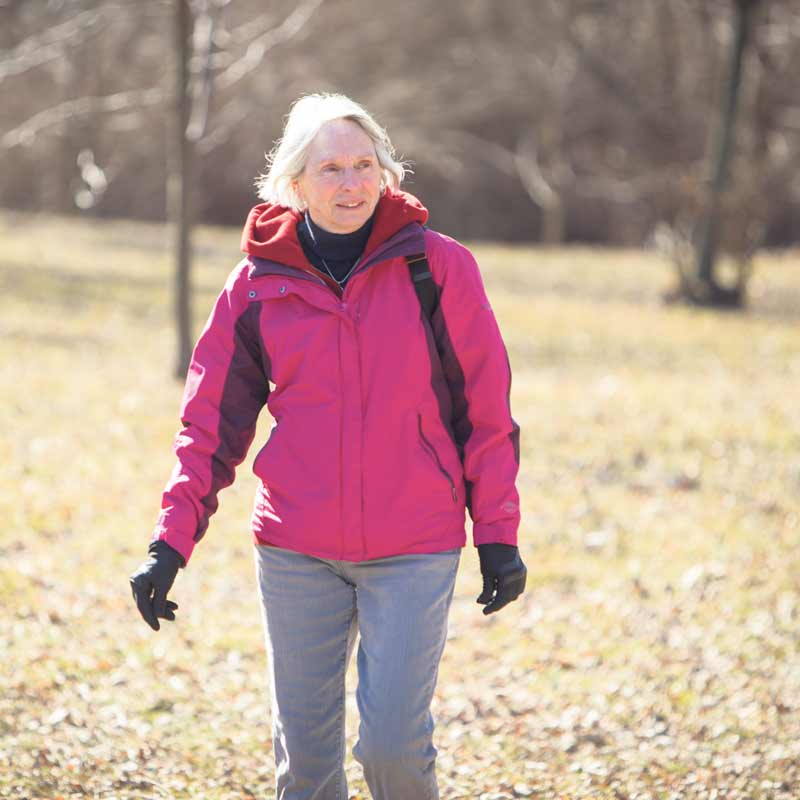 With her legacy gift to The Great Trail, Pat Junkin is expressing her desire to see future generations share in the Trail's natural wonders. SUPPLIED