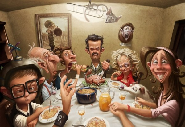 Illustration by the fabulous  Tiago Hoisel