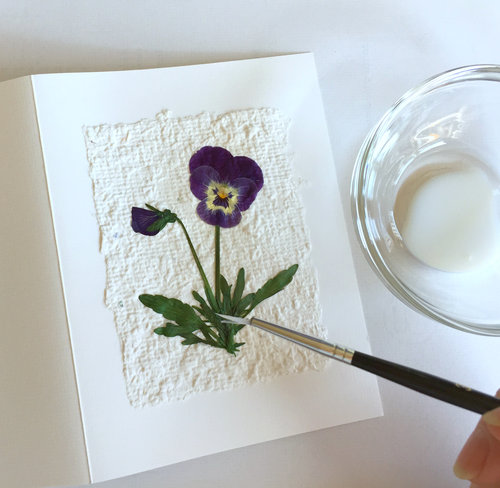 Perfect paper adhesive pressed flower sealant wooden deckle perfect paper adhesive pressed flower sealant mightylinksfo