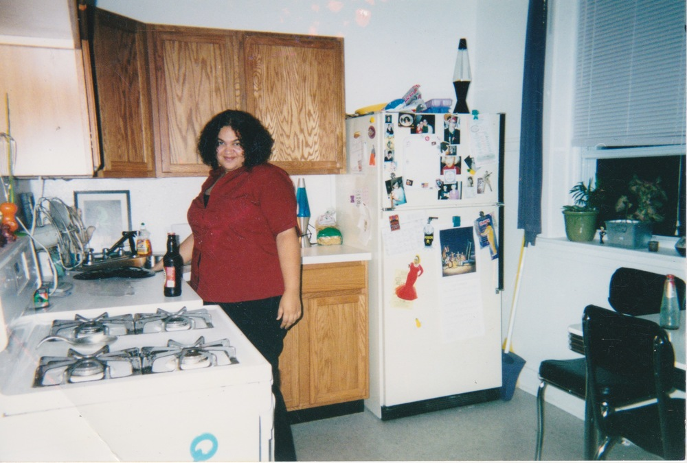 My 21st birthday in my Chicago apartment, 12 days after Sept. 11th, 2001.