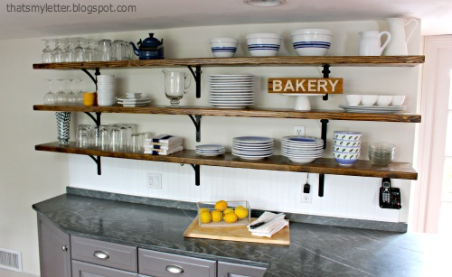Check out thatsmyletter.blogspot.com to see this awesome kitchen makeover