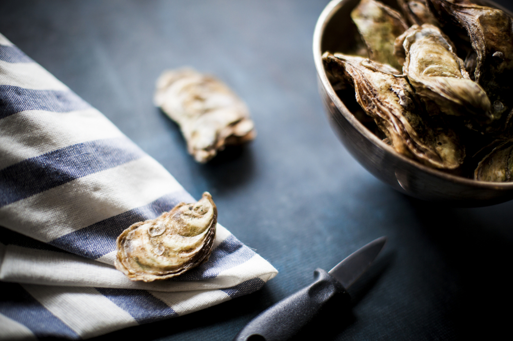Shellfish like oysters are just one of the eight seafood types that are the healthiest (and lowest in mercury) for you.