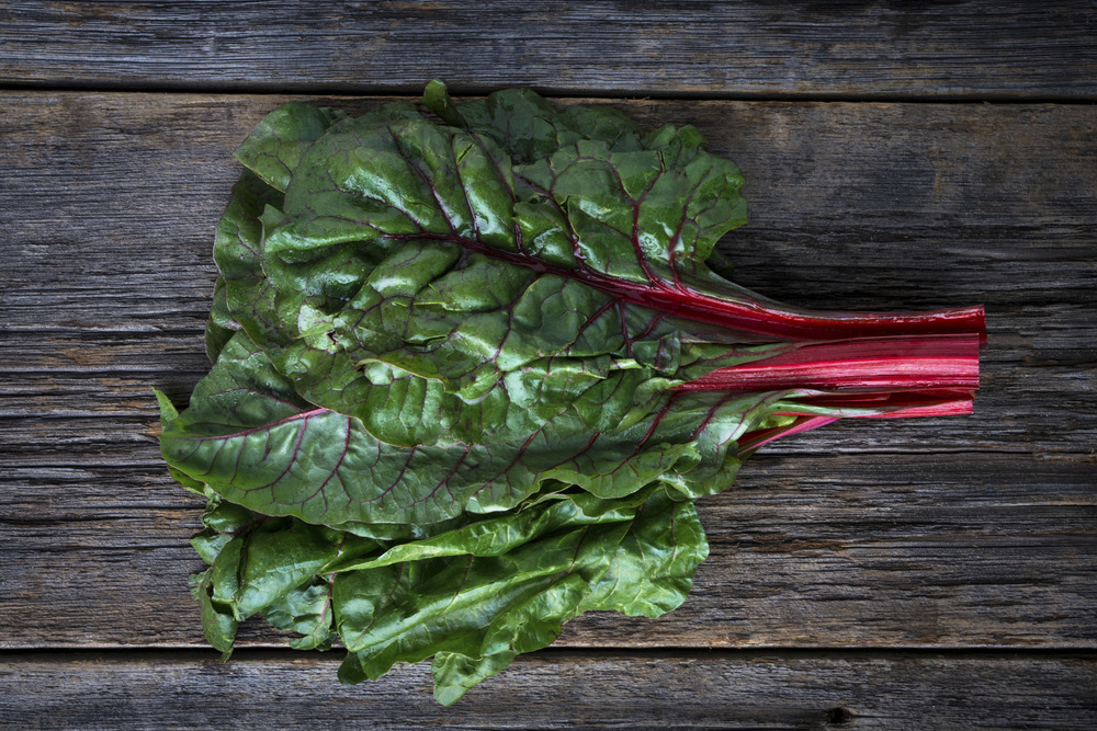 I didn't get into chard until later in life...but now this leafy green veggie is one of my faves and is a total nutritional powerhouse - giving you good doses of vitamins C, K, A, iron, magnesium and other micronutrients.