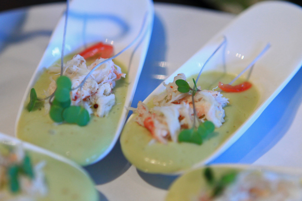 This chilled avocado and Jonah crab soup was definitely one of the favorite gastronomic goodies I've ever made.