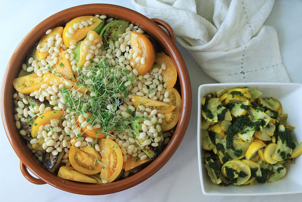 This was the impressive lunch created by Rachel Lauginiger over at Good Eggs NYC today.