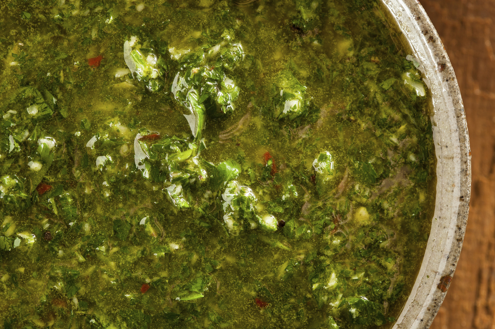 Argentinian-based chimichurri sauce is a great alternative to sauces with sugar and is super easy to make.