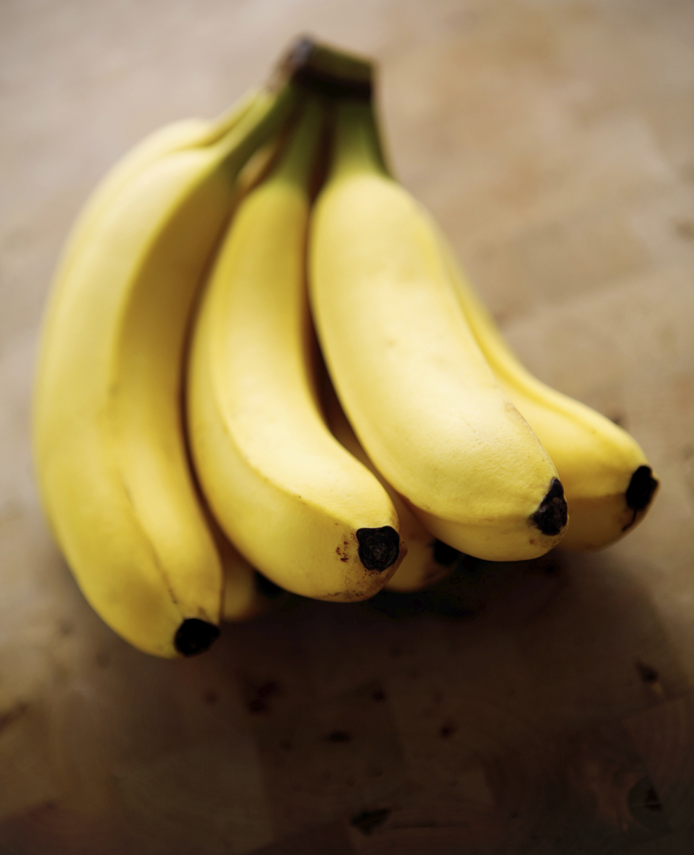 """Freeze bananas to get a wonderful ingredient that mimics the texture of ice cream. I first froze bananas with the peel and """"peeled"""" it off with a knife, but you can take the peel off beforehand and slice them up before using in a blender."""