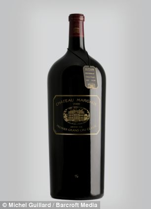 Limited edition 12-litre bottle of Chateau Margaux 2009