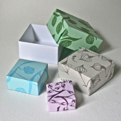 The simple but elegant origami box