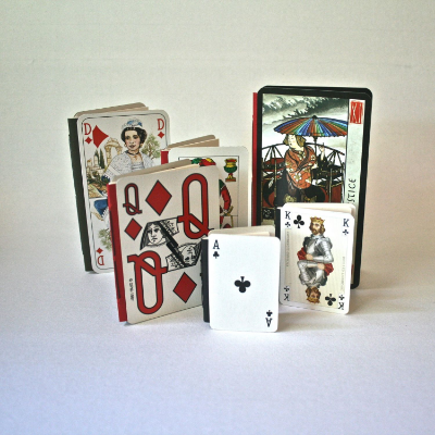 Playing card books make great gifts