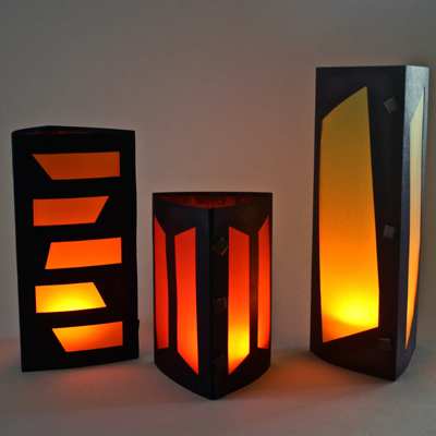 Simple yet dramatic, luminaries transform the feeling of a room.